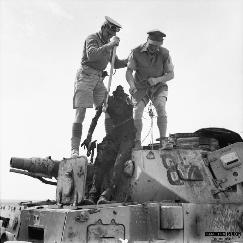坦克战:活活烧死12