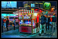 Late night snack shack in Istanbul