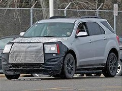 2016 Chevy Equinox and GMC Terrain spied
