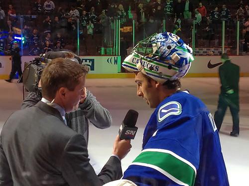 Murph & Lou, Vancouver Canucks Game