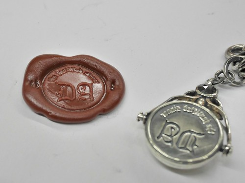 My Own Watch Chain Completed - 7 - The Seal