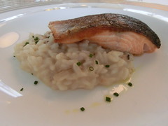 fish(0.0), meal(1.0), fish(1.0), seafood(1.0), meat(1.0), risotto(1.0), food(1.0), dish(1.0), cuisine(1.0),