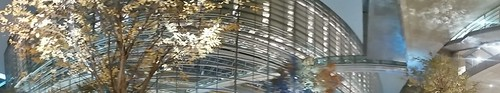 panorama photo at Tokyo International Forum