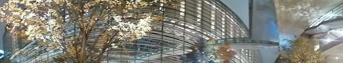 panorama photo at Tokyo International Forum