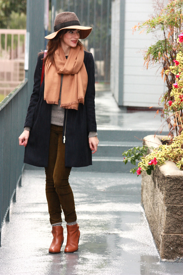 Neutral Layers, Anthropologie Hat