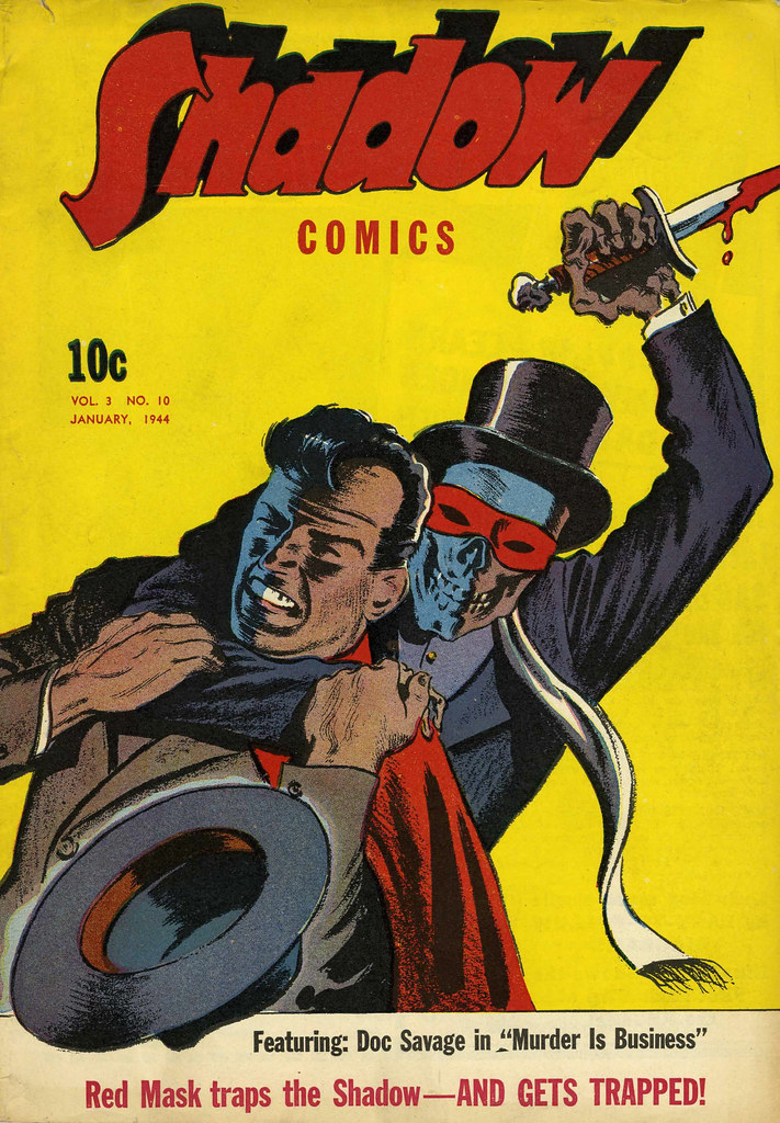 Shadow Comics V3#10 Mile High pedigree (Street & Smith, 1944)