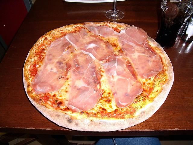 Pizza Prosciutto Crudo Osteria