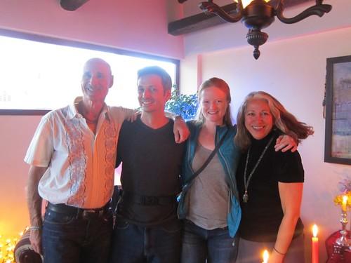Christmas party with Ramona and Jeffrey - Cuenca, Ecuador