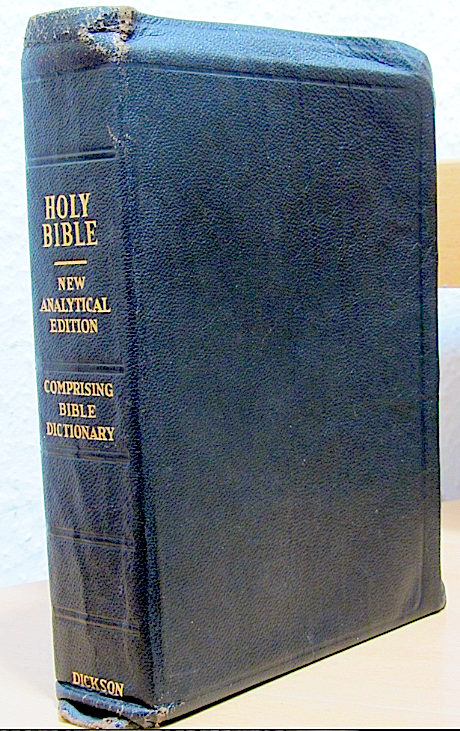 KJV - Dickson's New Analytical Study Bible by DICKSON ...