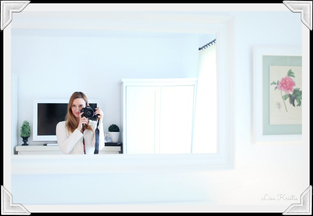 white decoration bedroom mirror self-portrait europe european scandinavian style clean ikea