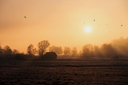 Sunrise in Bavaria