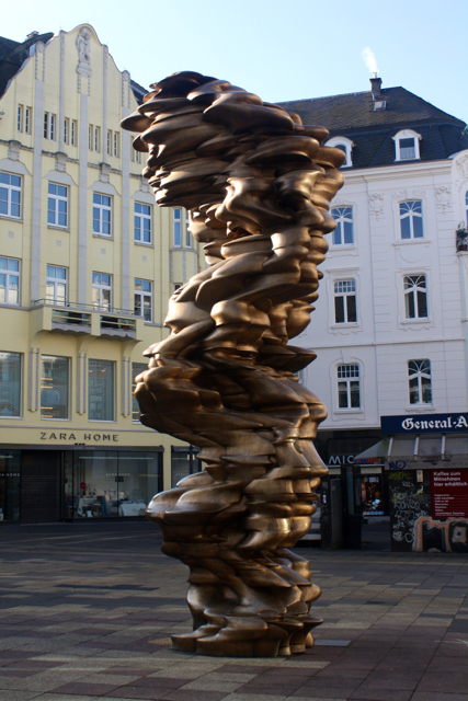 A sculpture in the centre of Bonn, Germany