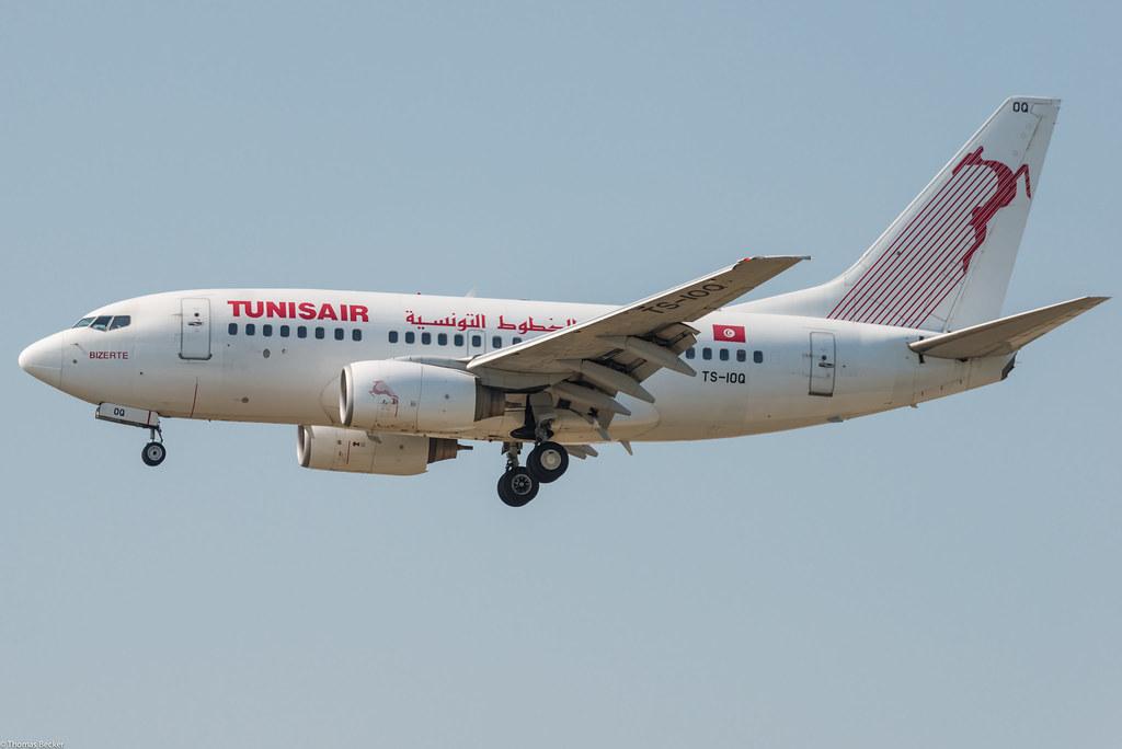Tunisair Boeing 737-6H3 TS-IOQ Bizerte (805449)