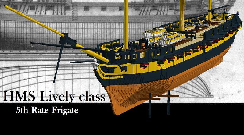 HMS Lively - Pirate MOCs - Eurobricks Forums