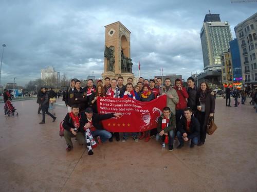 Gagarin, Liverpoolfc.ru