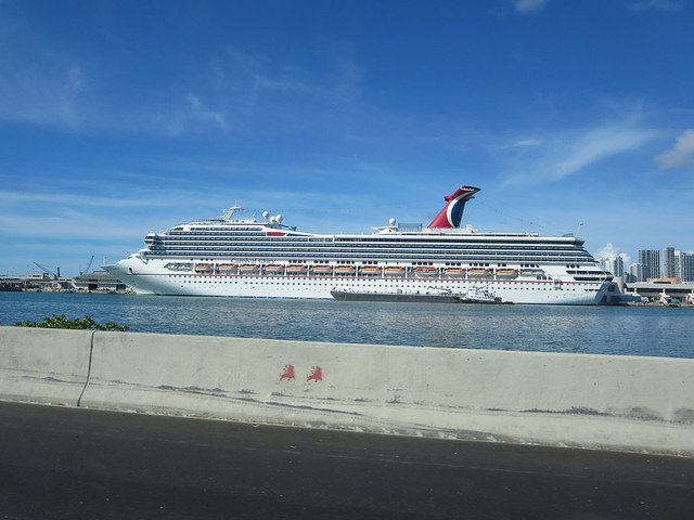 Carnival Glory Cruise Ship Docked In South Beach Miami Florida  Flickr  Pho