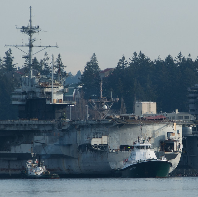 USS Ranger sails toward the scrapyard | Kitsap Daily News