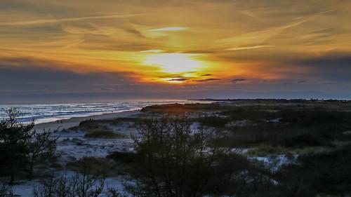 sunset newyork beach longisland suffolkcounty smithpoint smithpointcountypark