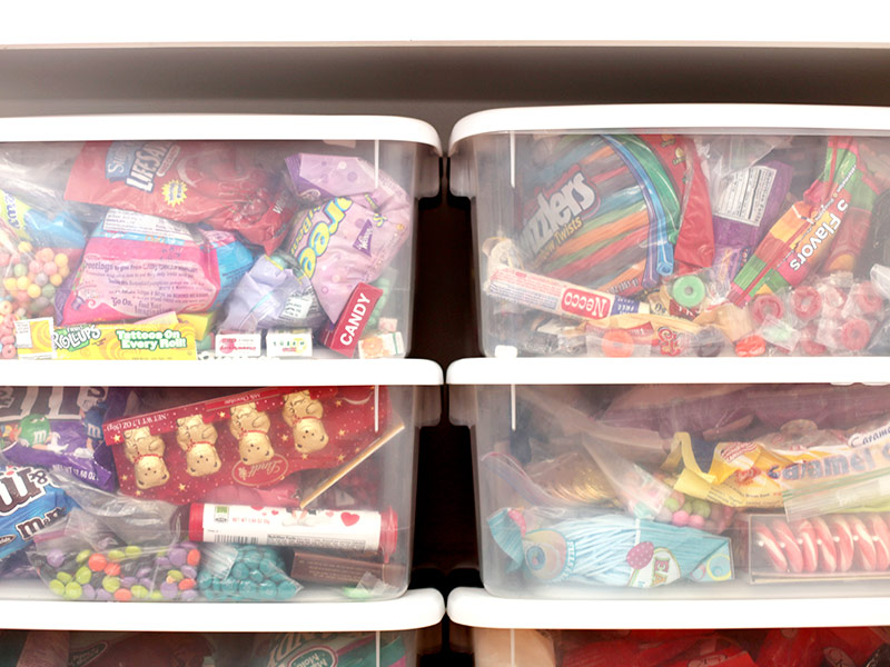 Candy Storage