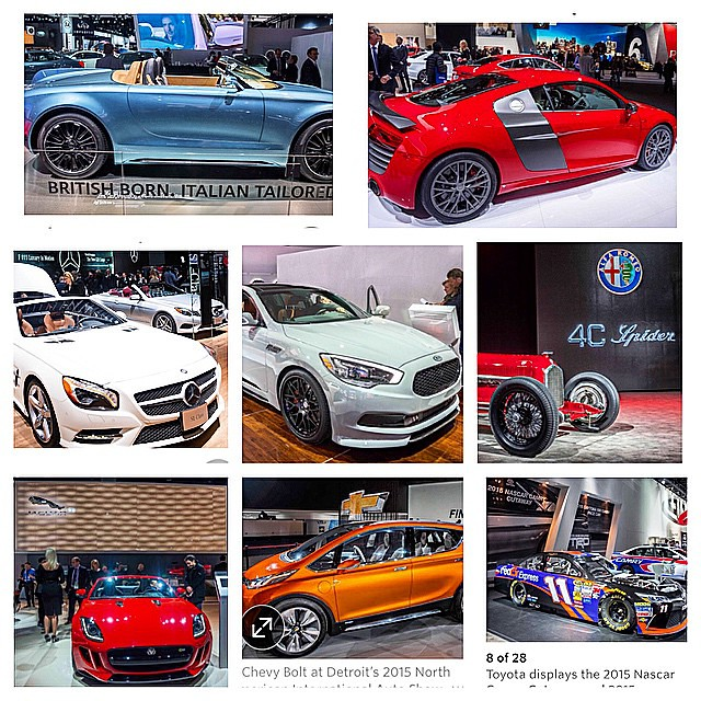 Baller shot caller! 8 of my #naias #detroit photos in #thewallstjournal @wsj #cars