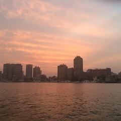 No effects #Nile #Egypt #Sunset