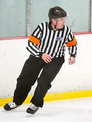 Referee Justin Bell