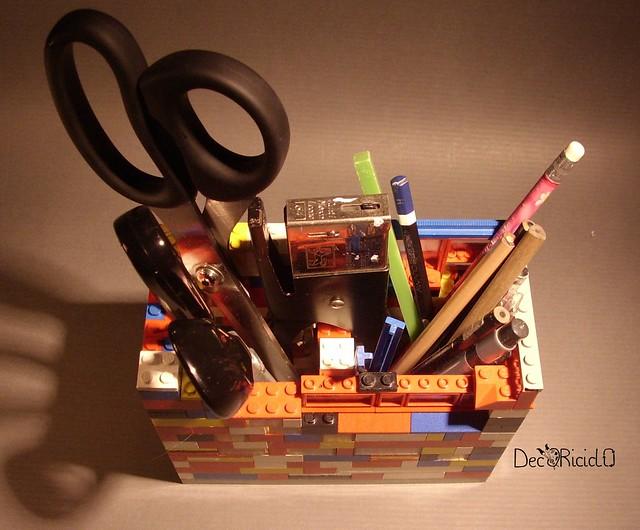 portaoggetti LEGO 15