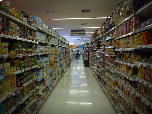 in the supermarket