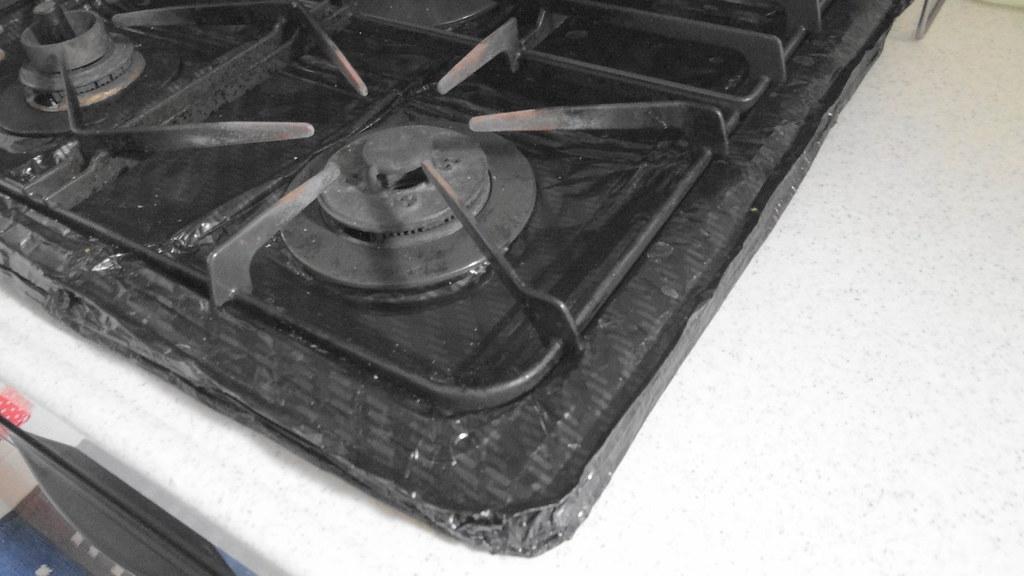 ガスコンロ・カバーの取り付け方の工夫 (3)