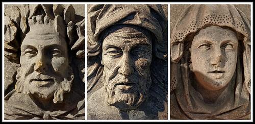 Ancient Faces (Triptych) (42/365)