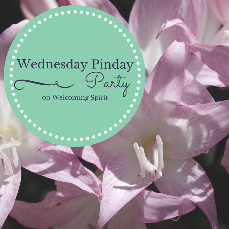 Wednesday Pinday Party on Welcoming Spirit