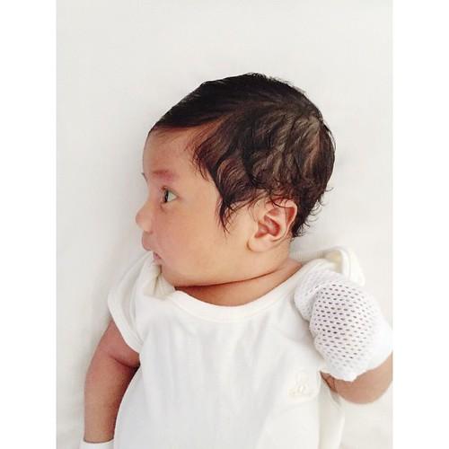 23 days old. Introducing my brand new nephew, Afzan Zhafri. �� #afzanzhafri