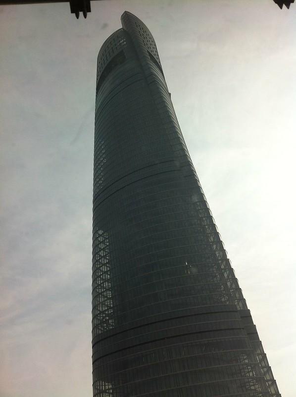 la SHANGHAI TOWER Pemière de Chine, deuxième du monde