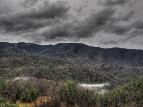 weather clouds landscape tennessee hdr appalachians photomatix