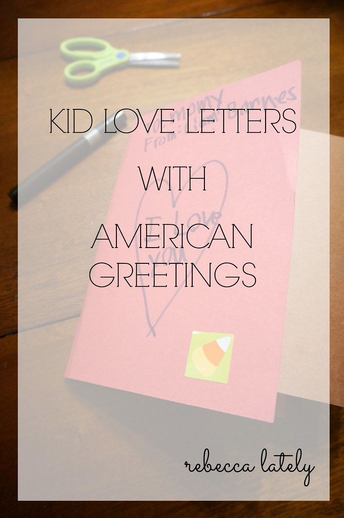 Kid Love Letters American Greetings 2