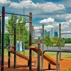 Un parque ideal para juegos. ¿Conoces alguno así? #fitness #fitnesslife #fitnessstyle #fitnessworld #fitnessplanet #motivation #fitnessmotivation