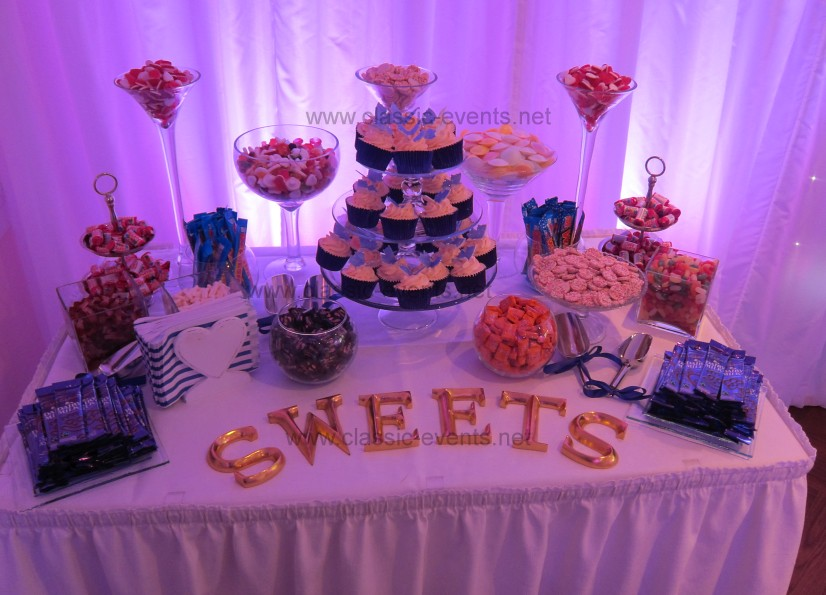 Wedding Sweet Table Purple Theme Wedding Candy Buffet At Flickr