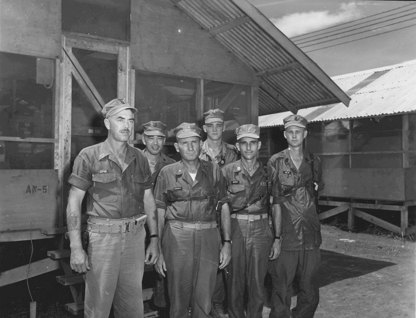 Division Ordnance Section Headquarters Battalion, 1st Marine Division ...