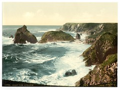 Coast view, Kynance, Cornwall, England-LCCN2002696590