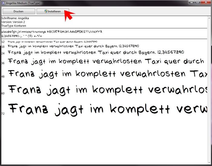 {DIY} eigene Handschrift als Font 07