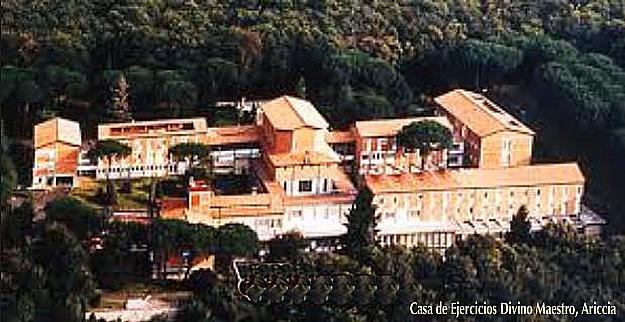 Casa Ejercicios, Ariccia
