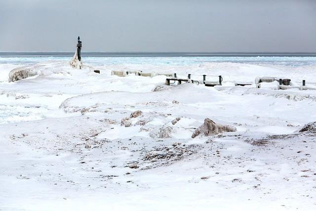 Frozen pier 1
