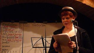 Johanna - textstrom Poetry Slam, Wien