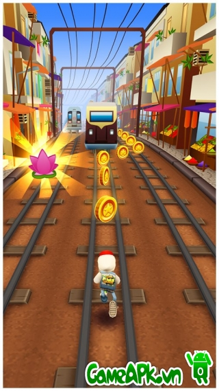 Subway Surfers v1.40.0 hack full tiền cho Android