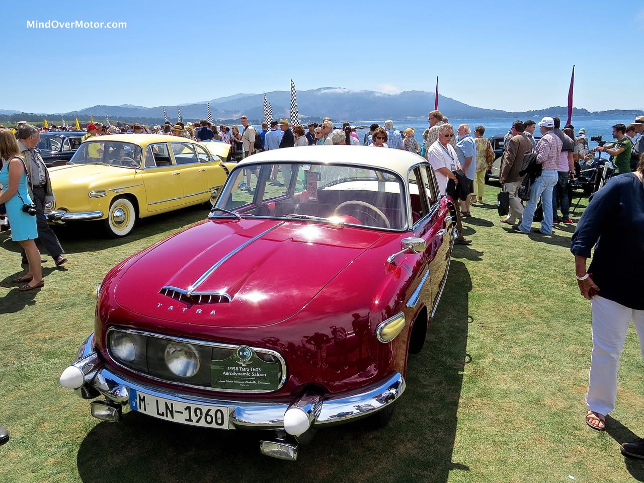 Tatra T603 Front