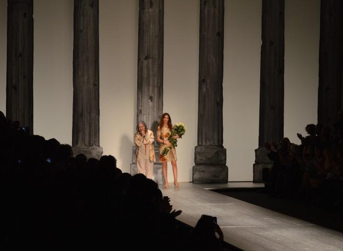 laura biagiotti, wildflower girl, fashion show, fashion week (2)
