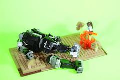 legend of korra mech a tank attack