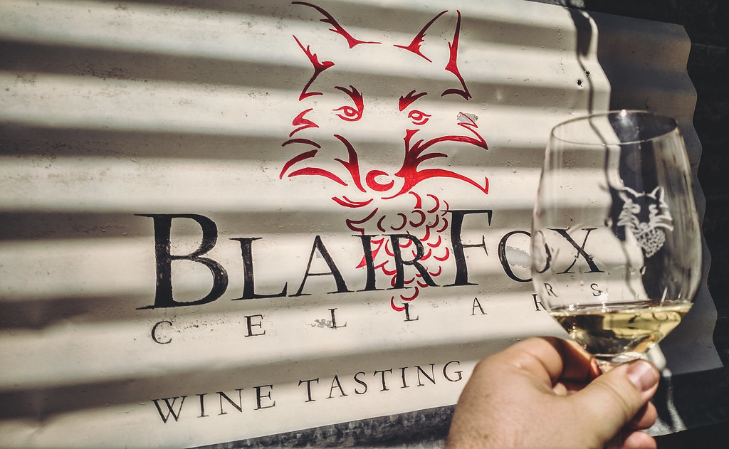 Blair Fox Cellars Wine Tasting