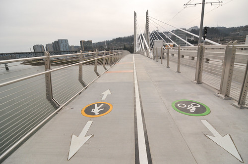 My first walk across Tilikum Bridge-16