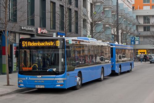 Griensteidls Buszug in Moosach